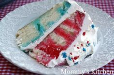 Patriotic Poke Cake {Better Late than Never}