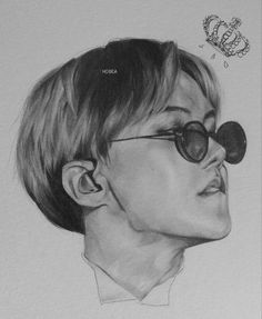 BTS Hoseok/J-Hope fanart @ho.bea (pencil)