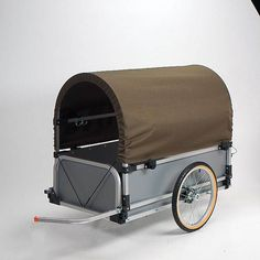 Bicycle Accessories | The Wike Park Pioneer Cargo Trailer