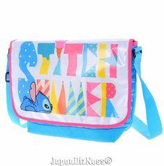 New Japan Disney Store Stitch Summer Fun Adjustible Shoulder Bag…