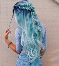 Beautiful hair color #pastelhair #hairstyle