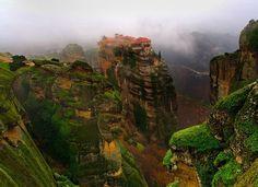 Monastery of Varlaam in Meteora region, Greece