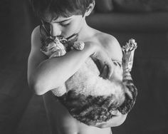 Boyhood, Child Photography, Everyday Documentary, Pet and Animal PhotographyFebruary 5, 2015 How Boys Sometimes Love Their Cats By Tammy Wahl