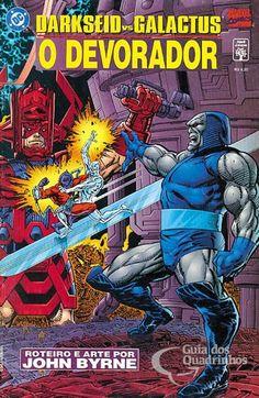 Darkseid Vs.  Galactus - O Devorador - Abril