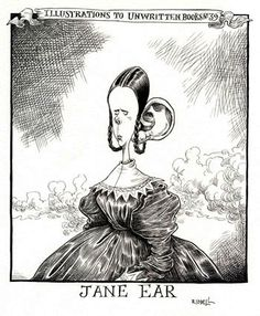 jane ear, chris riddell