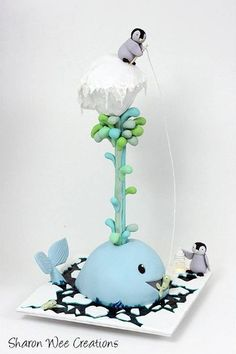 Whale and Iceberg Class, Sharon Wee