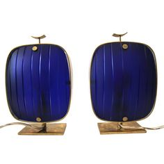 Max Ingrand, Pair of lamps, Production Fontana Arte, Circa 1960, Italy. | From a unique collection of antique and modern table lamps at https://www.1stdibs.com/furniture/lighting/table-lamps/