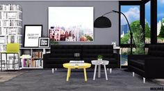 Via Sims4Updates : Living room conversions pack at MXIMS