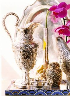 Vintage silver...always elegant