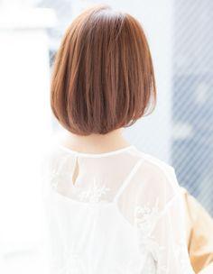 大人かわいい小顔耳かけショートボブ(YK−264) | ヘアカタログ・髪型・ヘアスタイル|AFLOAT(アフロート)表参道・銀座・名古屋の美容室・美容院