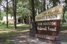 Hard to find this page!  Sam Houston National Forest park and hiking trail info