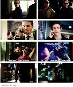 Even though I don't ship SnowBarry romantically, these Olicity and SnowBarry parallels give me chills