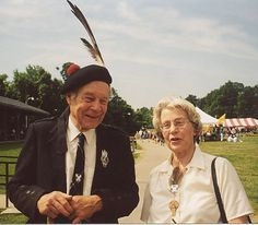 Chief George MacMillan and wife Jane