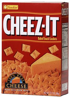 Part of my daily diet. I eat cheez it's when my schedule doesn't permit time for me to grab a meal. The energy I get keeps me going most days