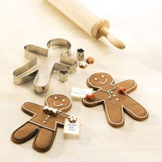 German Made Cookie Cutters - DP! Gingerbread Man for All Seasons, Stainless Steel Gingerbread Man, Gingerbread Cookies, Tis The Season, Christmas Themes, Cookie Cutters, Sweets, Seasons, Make It Yourself, Baking