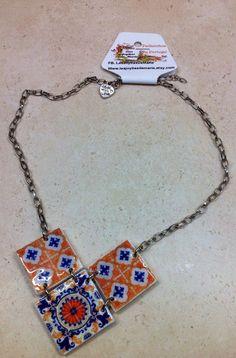 Necklace by LasJoyitasDeMarie on Etsy, $16.50