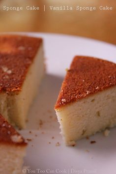 Sponge Cake  - Using Pressure Cooker. Spongy and airy that no one will believe it was made with a cooker!!!!!!!!