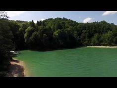 Vidéo en drone sur Lac de Vouglans | exceptionnelle ! | #Jura, France | #JuraTourisme
