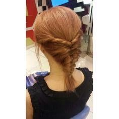 #Topsyturvy #Fishtail #Hair Fishtail Hair