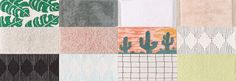 URBAN OUTFITTERS BATH MAT #2• 12 swatches  • DOWNLOAD