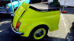 28ème salon champenois du véhicule de collection . - jean-pierre Marche - Remorque Fiat 500