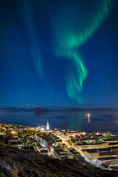 Northern Lights & Worlds Northernmost Town, Norway