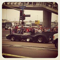 Batman a fare un giro… #comicconsw #comicconit #comiccon #batman http://instagr.am/p/NEgMF2J5rn/