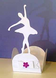 forminha para docinhos bailarina