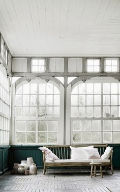 white, green, windows