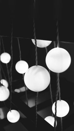 Stars Light Dark Interior City Bw #iPhone #6 #plus #wallpaper