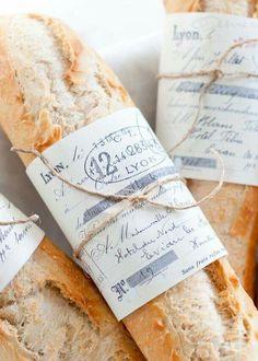 Baguette bread.