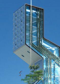 Futuristic Architecture - http://futuristicnews.com/category/future-architecture/