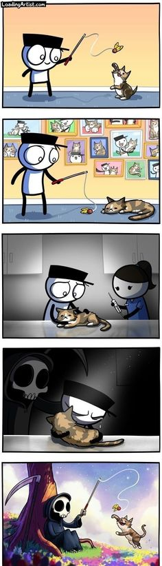 """A Handful Of Web Comics To Lift Your Spirits - Funny memes that """"GET IT"""" and want you to too. Get the latest funniest memes and keep up what is going on in the meme-o-sphere. Memes Humor, Funny Memes, Meme Meme, Funny Animals, Cute Animals, Funny Comic Strips, Comics Story, Sad Art, Kawaii"""