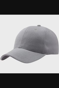 Shop Unisex Hats for Summer Baseball Cap Dad Hat Plain Men Women Cotton Adjustable Blank Unstructured Soft - Gray now save up 50% off, free shipping worldwide and free gift, Support wholesale quotation! Cool Baseball Caps, Baseball Hats, Camping Hair, Flat Hats, Sun Hats, Quotation, Hats For Women, Dads, Unisex