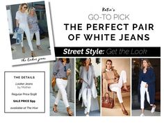 White jeans and why they are our go-to pick for summer