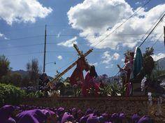 Procesión 1er Domingo de Cuaresma, Santa Catarina Bobadilla. Antigua Guatemala