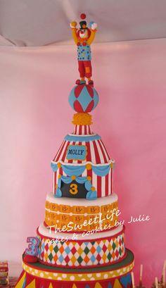 Molly's Big Top event cake — Birthday Cakes