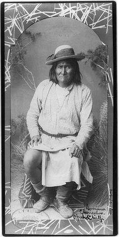 Geronimo Chiricahua Apache Chief 1829 1909