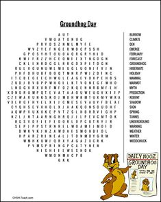 CHSH - Groundhog Day Resources