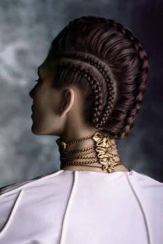 The Art of Braiding #avantegarde #braids #mohawkbraid #showstopper