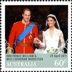 (Royal Wedding - Instant stamp)  AUSTRALIA