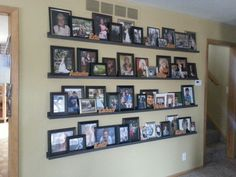 My family pics.... And very little dusting!