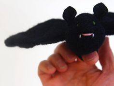 toy bat waldorf toy eco friendly toy all by EvesLittleEarthlings,