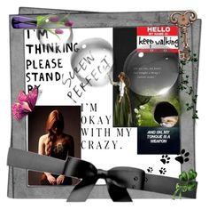 """Art: Pieces of Me"" by brigitta-m ❤ liked on Polyvore featuring art"