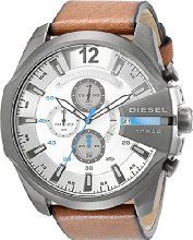 Diesel Men's DZ4280 Diesel Chief Series Analog Display Analog Quartz Brown Watch