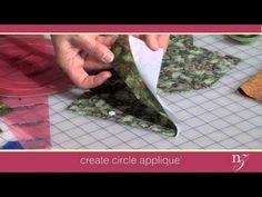 Dresden Plate Quilt Pattern - YouTube
