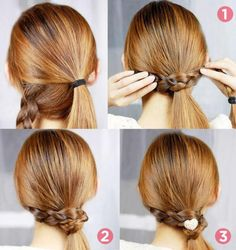 updos for medium length hair casual french twists updos for medium length hair casual french twists Ball Hairstyles, Ponytail Hairstyles, Amazing Hairstyles, French Twist Updo, French Twists, Updos For Medium Length Hair, Simple Ponytails, Hair Looks, Bridal Hair