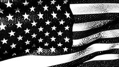 Stock Footage   A graphic black and white American flag waves in the breeze.   Download using the VidLib app. 50.000 Royalty Free Clips'