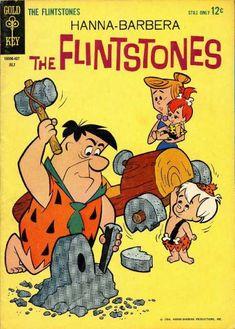 The Flintstones - Introducing Pebbles (Issue) Comics Vintage, Old Comics, Vintage Comic Books, Vintage Cartoon, Good Cartoons, Retro Cartoons, Classic Cartoons, Flintstone Cartoon, Fred Flintstone