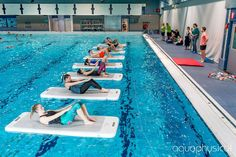 You'll Be Running to the Gym to Try These Fun New Fitness Classes!: Aquaphysical floatfit® HIIT